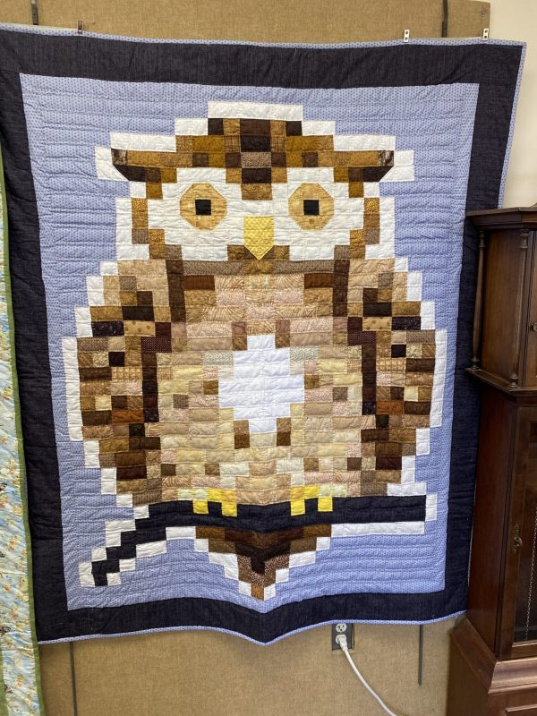Owl Quilt by Josephine Malley